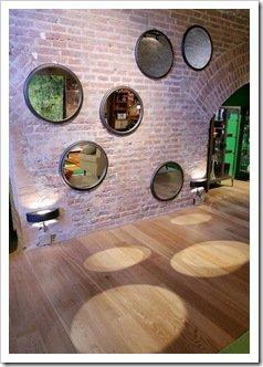 Foto de Espejos Ciculares de LA MERSA en Casa Foa