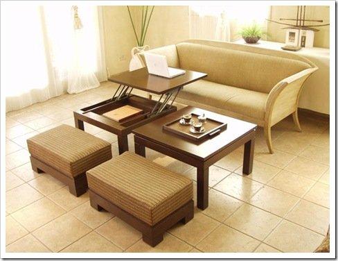 Foto mesa ratona de Zafira Design