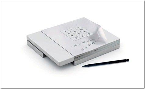Foto Notepad Telefono
