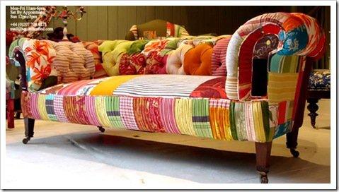 Flechazo de la semana muebles patchwork decocasa for Sillones clasicos ingleses