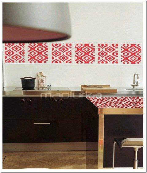 Foto Adhesivo Decorativo Mapiurka Cocina Retro