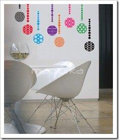 Foto Adhesivos Decorativos Mapiurka Comedor Retro