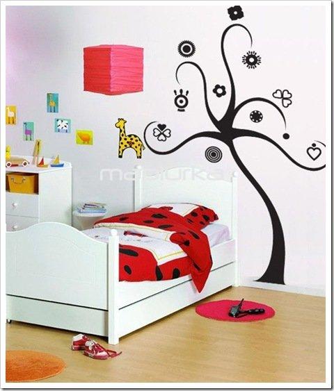 Foto Adhesivos Decorativos Mapiurka Dormitorio Niñas