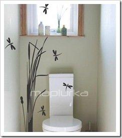 Foto Adhesivos Decorativos Mapiurka Toilette