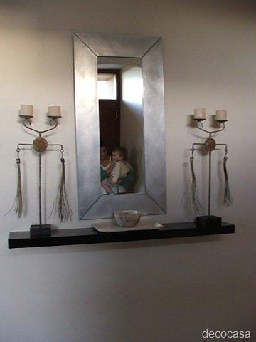 Ideas para paredes dif ciles decocasa for Espejos en la entrada de la casa