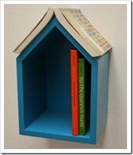 Foto Guarda Libros Casita