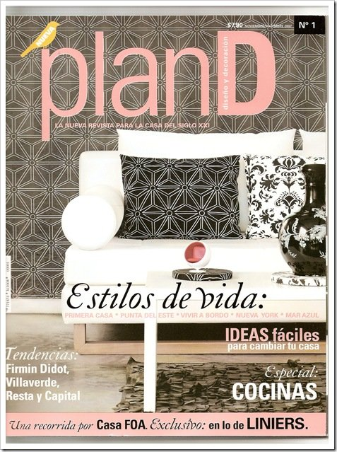 Miren la nueva revista de decoraci n pland decocasa Revista interiores ideas y tendencias