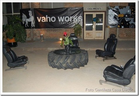 Foto Vaho Works Living reciclado