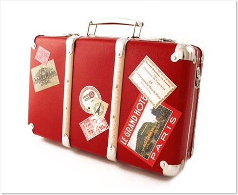 Foto Voyager Suitcase Red
