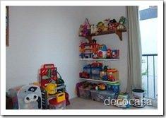Foto Dormitorio Juguetes en estantes