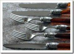 Foto Tenedores y Cuchillos Bugati Reina Batata