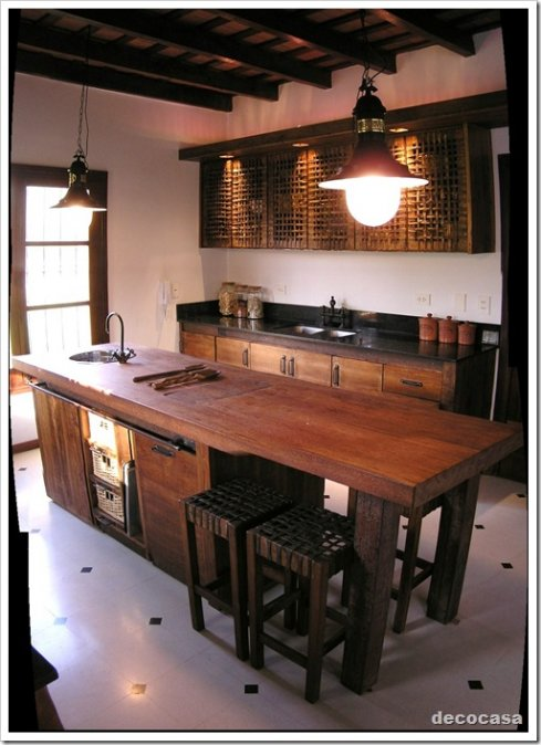 Dise o de interiores estilos i for Decoracion de islas de cocina