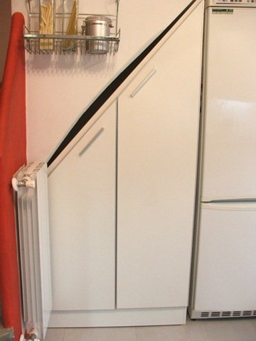 cocina placard bajo la escalera decocasa