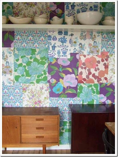 Foto Pared Patchwork