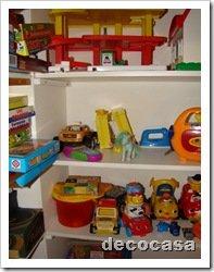 Foto Zoom Estantes juguetes dormitorio infantil4