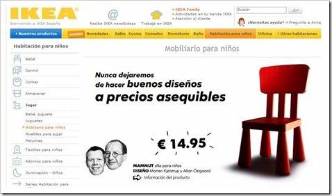 Imagen Web Ikea Silla Infantil