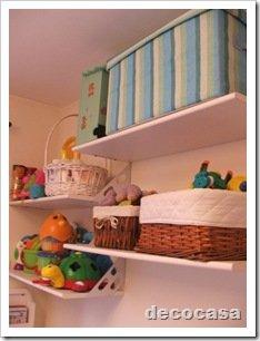 Foto Dormitorio Infantil Detalle Estante
