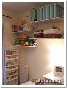 Foto Dormitorio Infantil Guardado Estantes