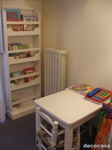 Dormitorios infantiles estantes en poco espacio decocasa for Dormitorios con poco espacio