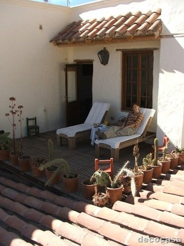 Secretos de jardiner a for Baldosones para terrazas