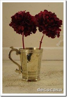 foto florero vaso de alpaca