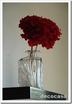foto florero vidrio