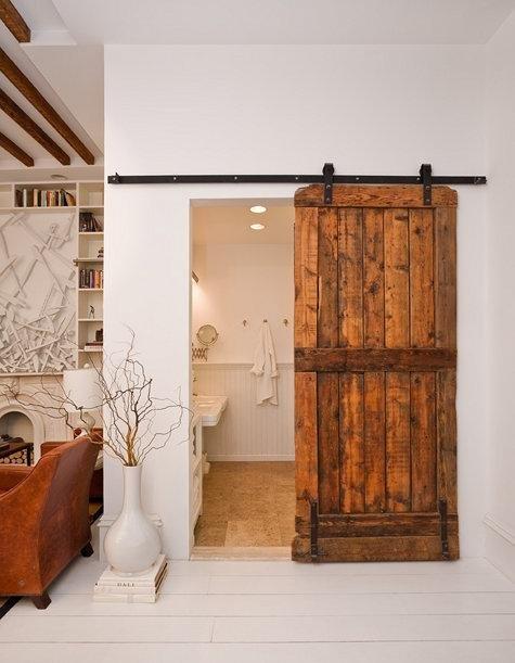 Puertas De Baño Rusticas:Sliding Barn Door