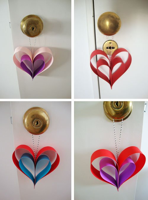 Decorar en san valentin ideas made at home decocasa for Decoracion de puertas de san valentin