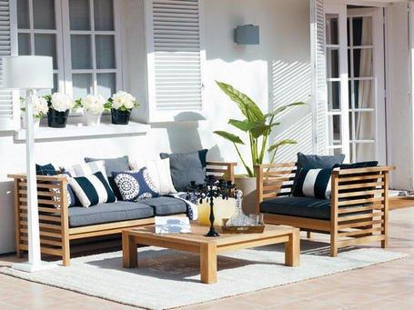 Fotos de porches terrazas y balcones decocasa for Muebles terraza casa