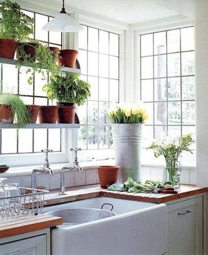 Tipos de ventanas esquineras bow y bay decocasa for Cocinas esquineras