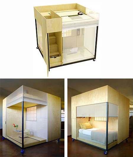 Un cubo Feng shui: vivir en pocos metros cuadrados – Decocasa