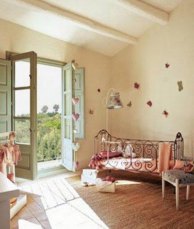 Little deco hermosos cuartos estilo vintage para inspirarnos - Dormitorios infantiles vintage ...
