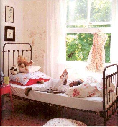 Little deco hermosos cuartos estilo vintage para for Cuartos de ninas estilo vintage