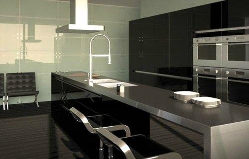 Cocinas de alta gama un lujo posible decocasa - Ver cocinas americanas ...