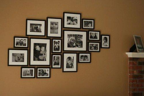 C mo ubicar los cuadros en la pared tips y sugerencias decocasa - Cuadro para pared ...