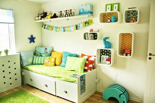 Decoracion y dise o decoraci n living decocasa unisex - Habitaciones infantiles unisex ...