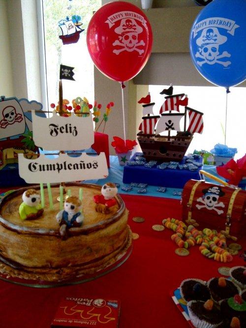Como organizar una fiesta infantil pirata fiestas y - Organizar cumpleanos ninos ...