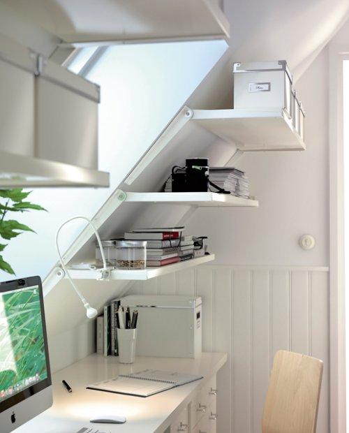 otra posibilidad es armar nuestra oficina dentro de un armario esta idea no slo es perfecta para ganar espacio sino que colabora con los dado
