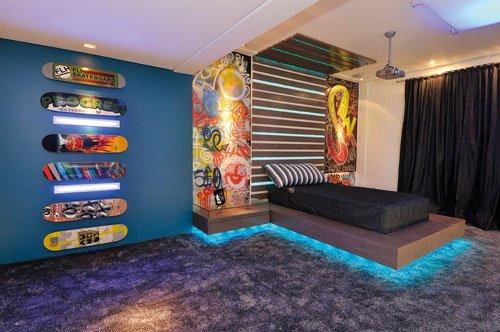 Decora la habitaci n de un adolescente al estilo skater for Diseno de habitacion para adolescente