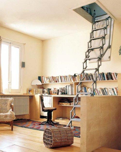 Escaleras para espacios peque os decocasa - Escaleras para espacios reducidos ...