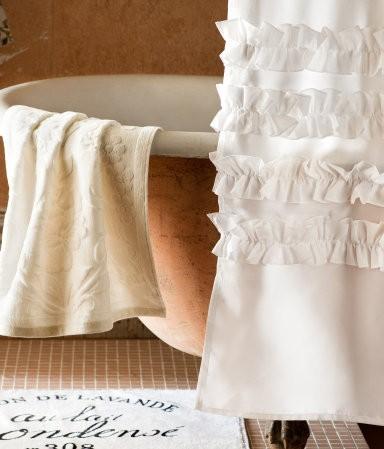 Ba o cortinas de ducha originales decocasa for Visillos para banos