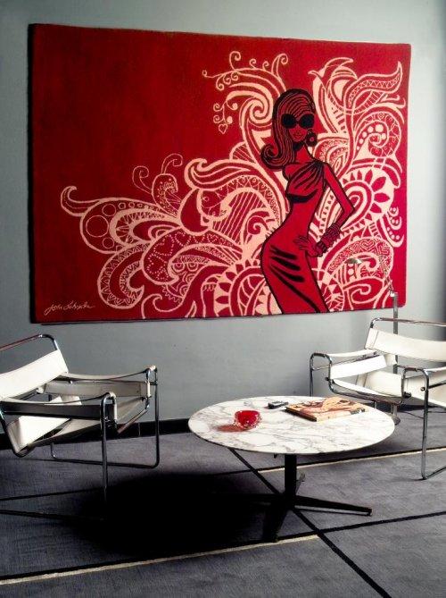 Tips de decoraci n para alfombras decocasa for Paredes focales