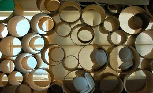 Ideas para dividir espacios decocasa - Biombo de carton ...