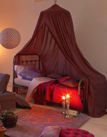 El estilo folk en la decoraci n decocasa - Decoracion arabe dormitorio ...