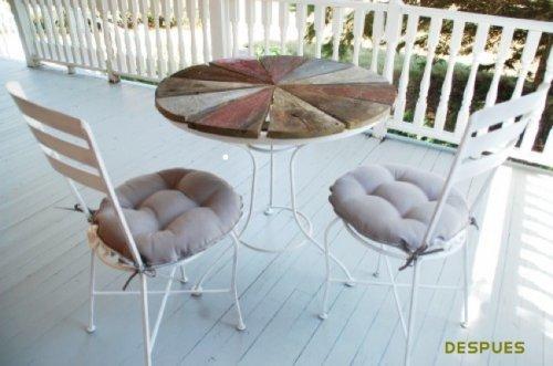 Antes y despu s mobiliario para el jard n decocasa for Mobiliario para el jardin