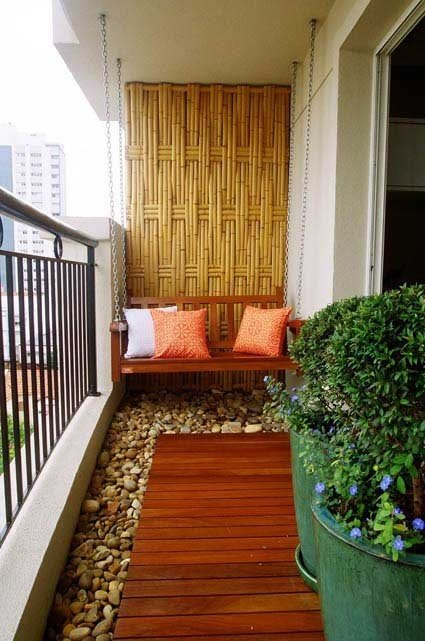 Deco para balcones peque̱os Рdecocasa