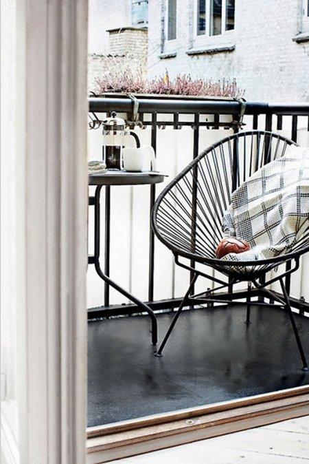 Deco para balcones peque os decocasa - Muebles para balcones pequenos ...