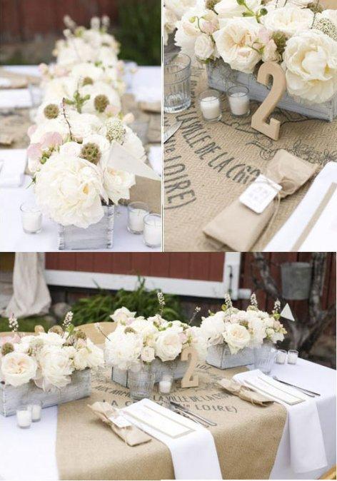 Decoeventos 3 bodas vintages y r sticas decocasa - Como decorar una bodega rustica ...