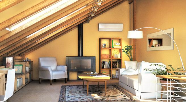 Techos abuhardillados decocasa - Luces para techos bajos ...