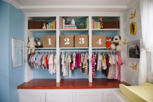 Ideas de almacenamiento para el cuarto del beb decocasa for Reciclado de placares